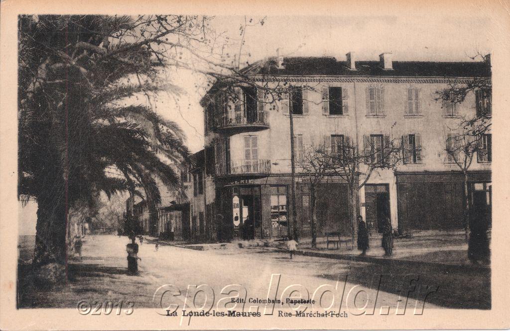 Cartes Postales Anciennes La Londe Les Maures Le